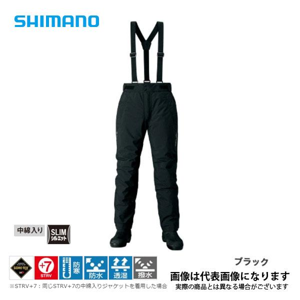 ゴアテックス エクスプローラーウォームパンツ ブラック 3XLサイズ RB-01PS シマノ  パンツ 釣り フィッシング ウェア アウトドア:フィッシングマックス店