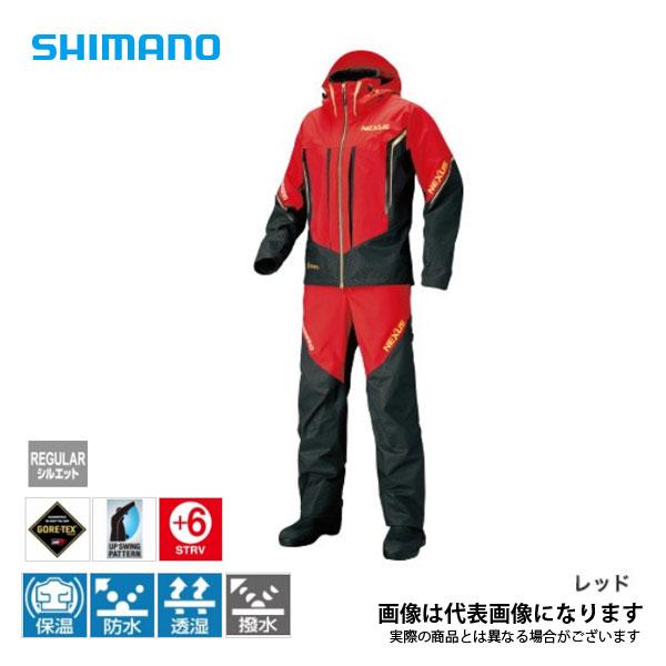 ネクサス ゴアテックス プロテクティブスーツ EX レッド Mサイズ RT-119S シマノ