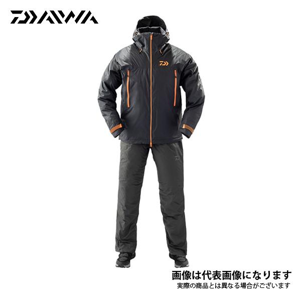 レインマックス ウィンタースーツ ブラック Lサイズ DW-33009 ダイワ