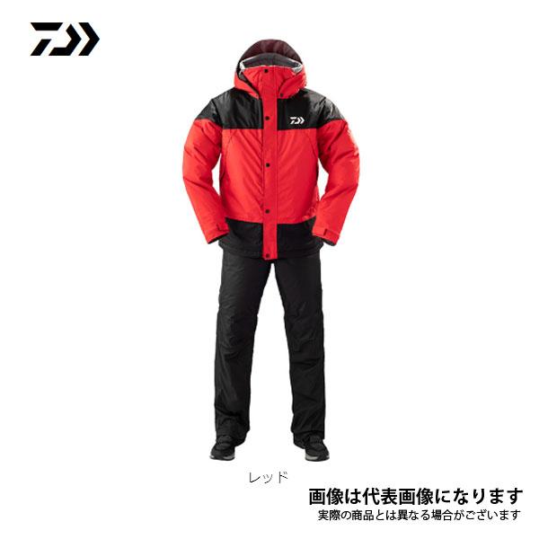 レインマックス ウィンタースーツ レッド Lサイズ DW-35009 ダイワ