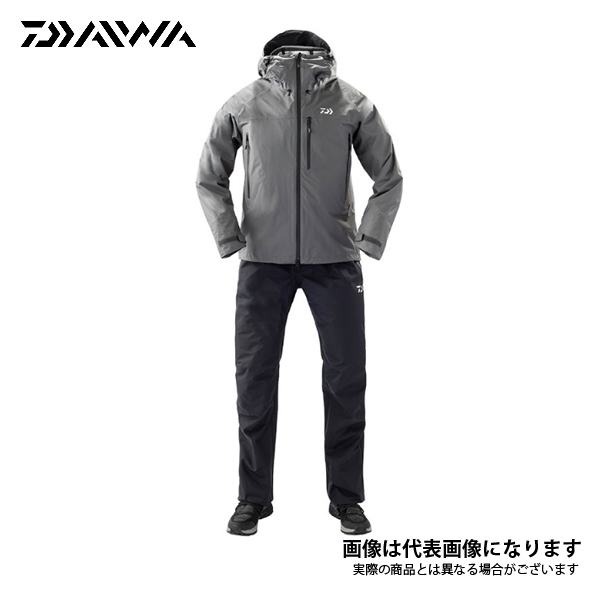 レインマックス レインスーツ ガンメタル Lサイズ DR-32109 ダイワ