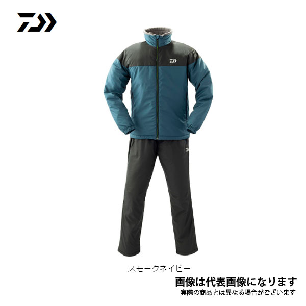 ウォームアップスーツ スモークネイビー Mサイズ DI-52009 ダイワ