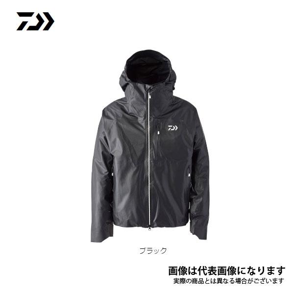 ACレインジャケット ブラック 2XL DR-41020J ダイワ レインウエア レインコート レインスーツ 雨具 雨がっぱ 合羽
