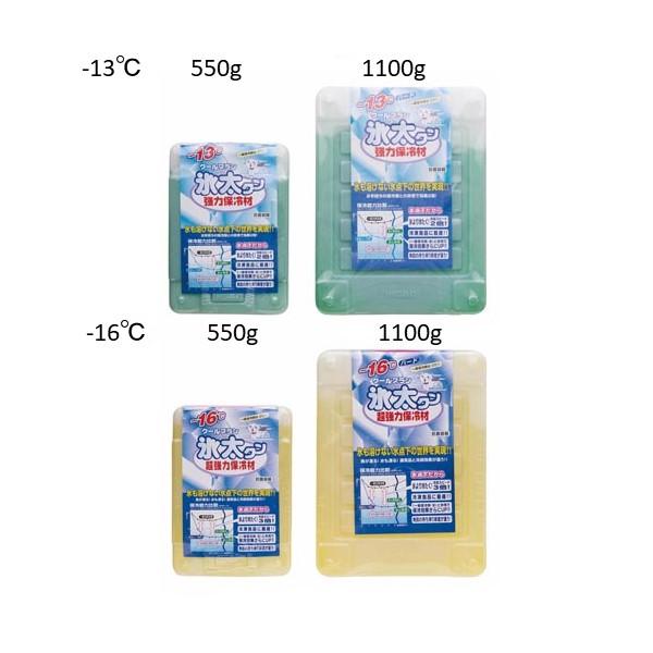 氷太くん マイナス16℃ 美品 1100gハード ホワイト 信託 イノアック 超強力保冷剤