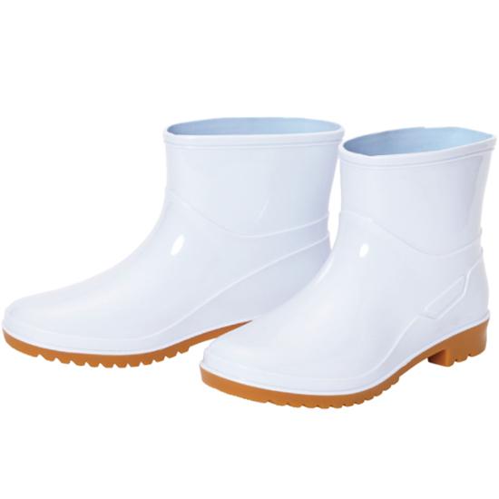 阪神素地 釣り フィッシング 船 船釣り 水産 水産用 水産業 漁師 漁業 漁 厨房 短い 年中無休 ショート 作業 出群 長靴 HM-7021 婦人耐油ショートブーツ 耐油長靴 ブーツ 女性 白 軽い