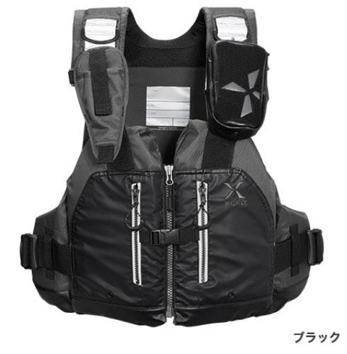 シマノ XEFO ロックトラバースベスト VF-297Q〔ブラック〕