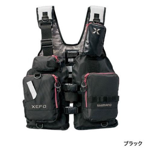 シマノ XEFO ゲームベスト VF-278R〔ブラック〕