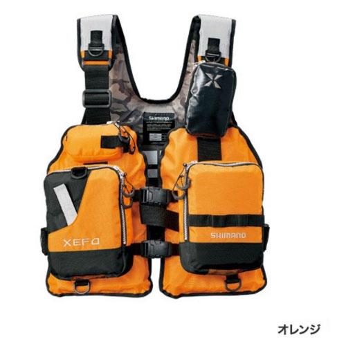 シマノ XEFO ゲームベスト VF-278R〔オレンジ〕
