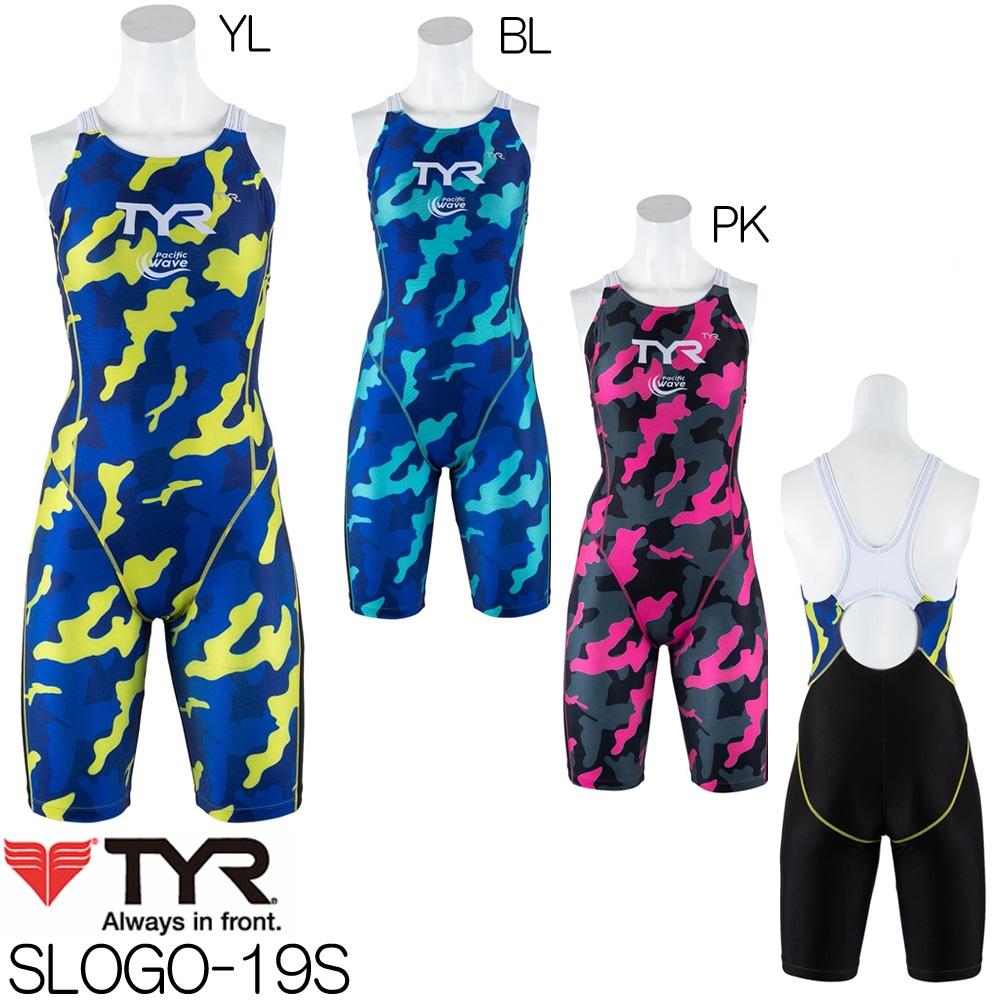 ティア TYR トレーニング水着 レディース ショートジョン 2019年春夏モデル SLOGO-19S