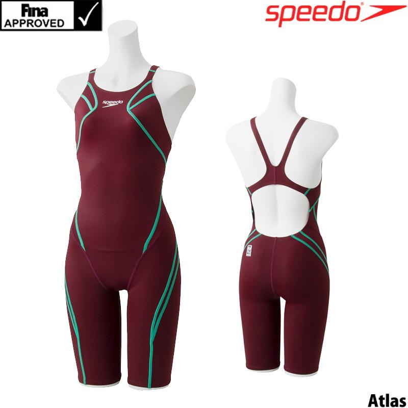 スピード SPEEDO 競泳水着 レディース FINA承認 アトラスニースキン 360°FLEX SCW11906F
