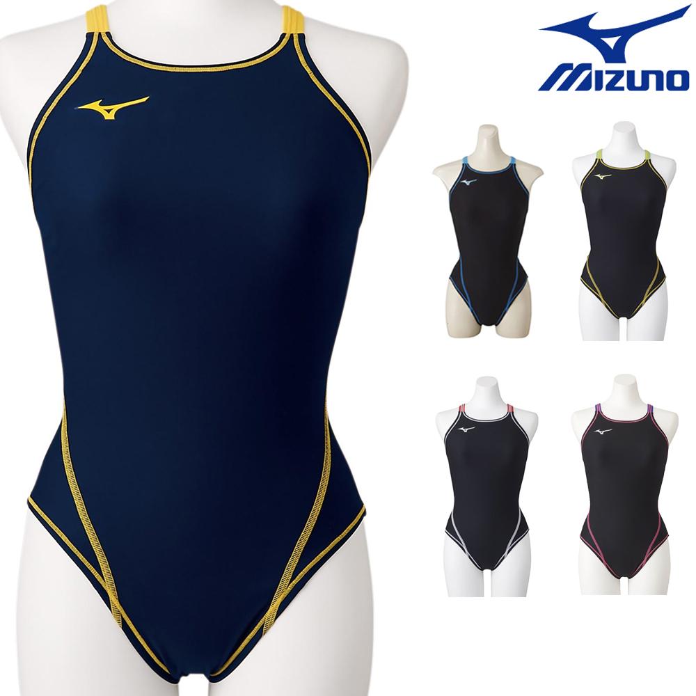 ミズノ 練習用水着 女性用 市販 特別セール品 ワンピースタイプ MIZUNO 競泳水着 エクサースーツ N2MA8260 U-Fit ミディアムカット レディース 競泳練習水着