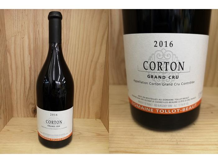 [2016] コルトン(トロ・ボー)Corton(Tollot-Beaut)