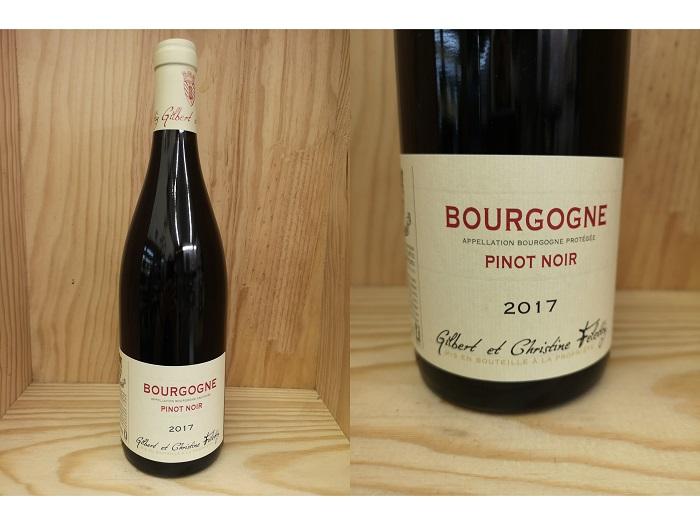 [2017] ブルゴーニュ ピノ・ノワール(フェレティグ) Bourgogne Pinot Noir (Felettig)