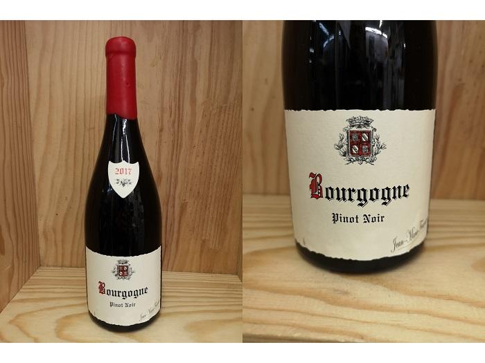 赤17正規品:[2017] ブルゴーニュ ピノ・ノワール(ジャン・マリー・フーリエ)Bourgogne Pinot Noir (Jean Marie Fourrier)