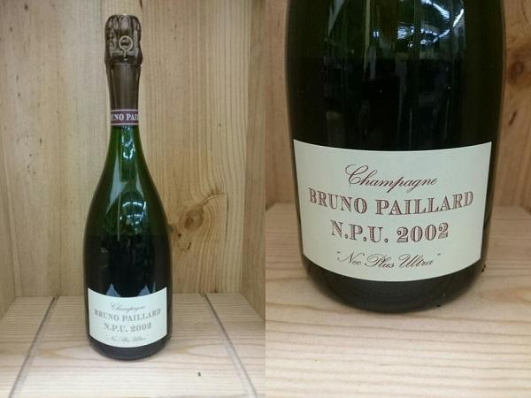 正規品:箱無:[2002] ブリュノ・パイヤール NPUBruno Paillard N.P.U ブルーノ・パイヤール