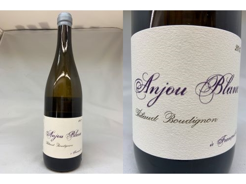 """フランソワ:白:[2017] アンジュー """"ア・フランソワ""""ブラン(ティボー・ブディニョン)Anjou """"a Francois"""" Blanc (Thibaud Boudignon)"""
