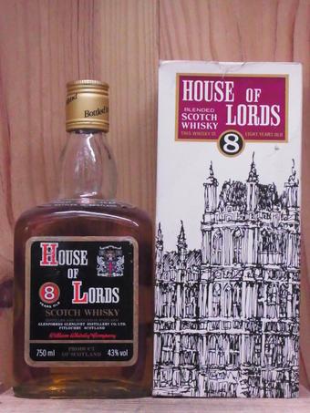 ハウス・オブ・ローズ 8年 750ml HOUSE OF LORDS 8Years 750ml
