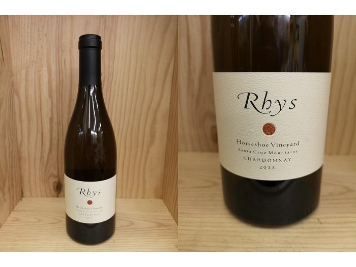 白:HOS:[2015] リース シャルドネ ホースシュー・ヴィンヤード Rhys Chardonnay Horseshoe Vineyard