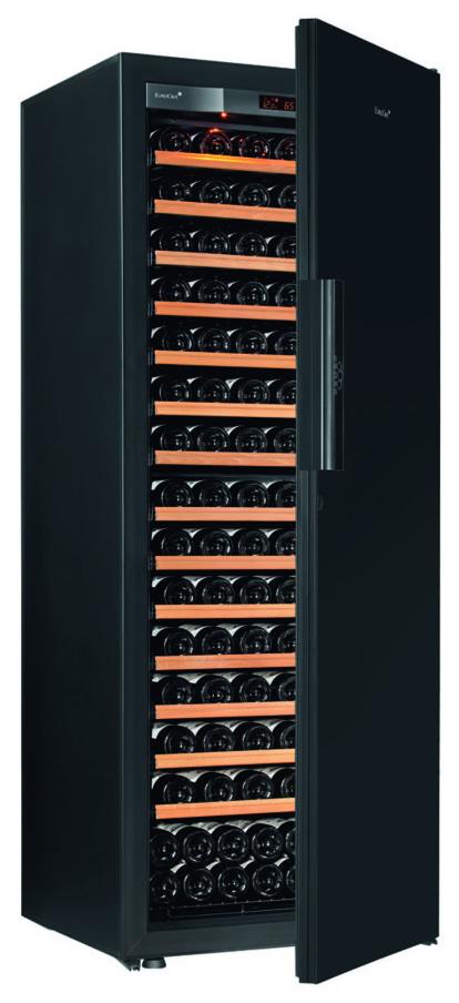 【送料・設置料無料!!】ユーロカーブ Pure-L-C-BlackPiano 収納182本 【ワインセラー】