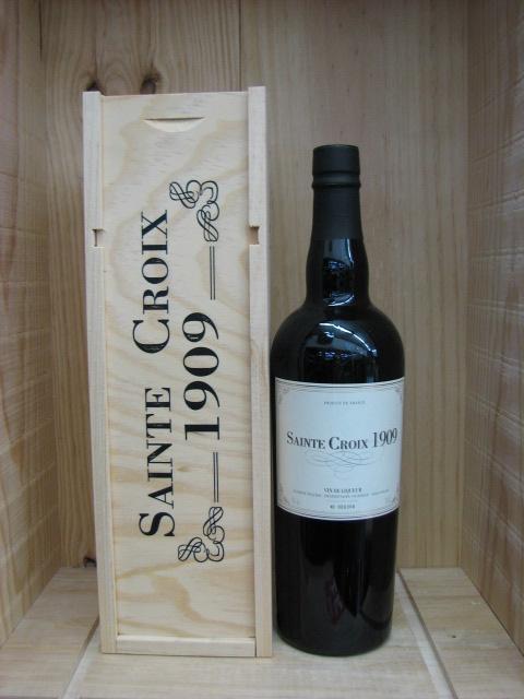 [1909] ヴァン・ド・リキュール(ドメーヌ サン・クロワ・甘口)Vin de Liqueur Domaine (Saint Croix)