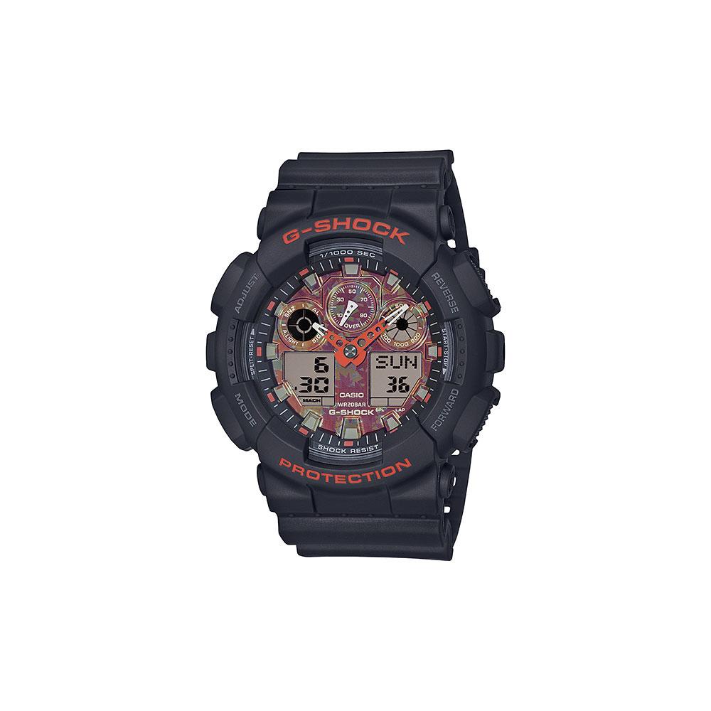 ジーショック G-SHOCK 腕時計 KYO MOMIJI デジタルMウォッチ GA-100TAL-1AJR  ギフトラッピング無料 ラッキーシール対応