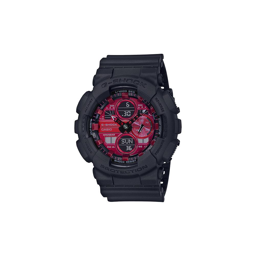 ジーショック G-SHOCK 腕時計 BLACK&REDアナデジMウォッチ GA-140AR-1AJF  ギフトラッピング無料 ラッキーシール対応