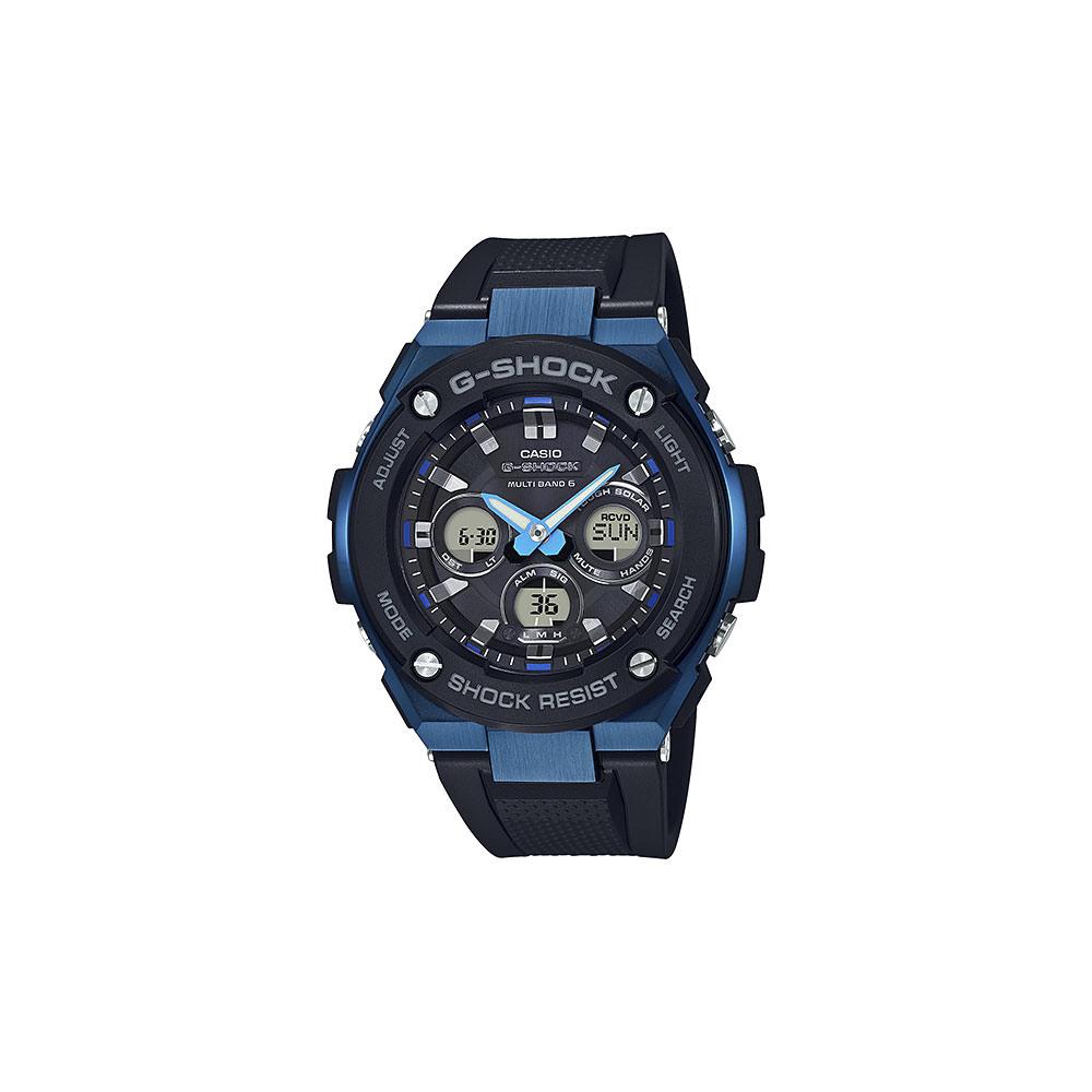 【スーパーSALE ポイント5倍 3/4-3/11】ジーショック G-SHOCK 腕時計 G-STEELアナデジ電波ソーラーM GST-W300G-1A2JF  ギフトラッピング無料 ラッキーシール対応