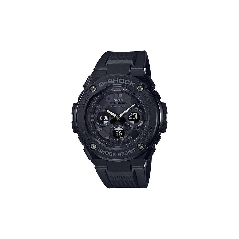 3月13日-14日限定 メーカー公式 クーポン配布中 ジーショック G-SHOCK 限定モデル G-STEELアナデジ電波ソーラーM 腕時計 GST-W300G-1A1JF ギフトラッピング無料