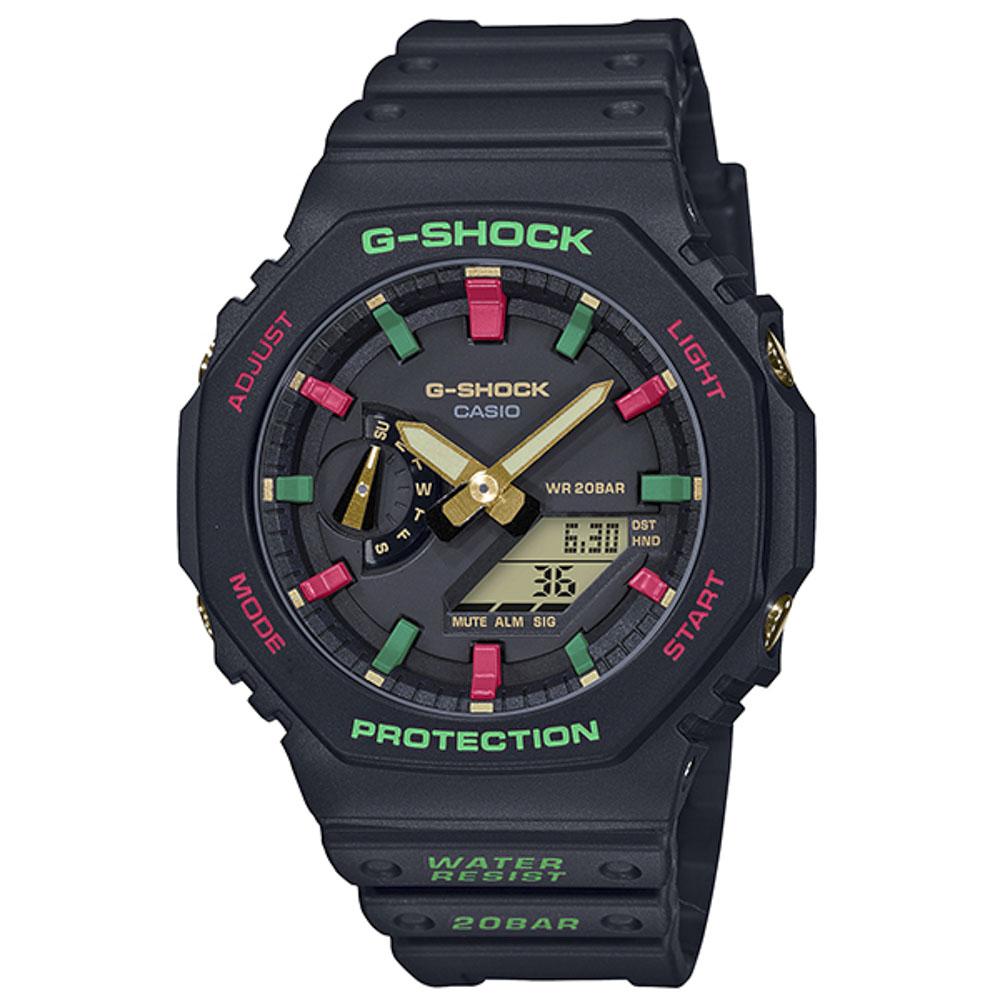 ジーショック G-SHOCK 腕時計 Throwback 1990s アナデジMウォッチ GA-2100TH-1AJF  ギフトラッピング無料 ラッキーシール対応