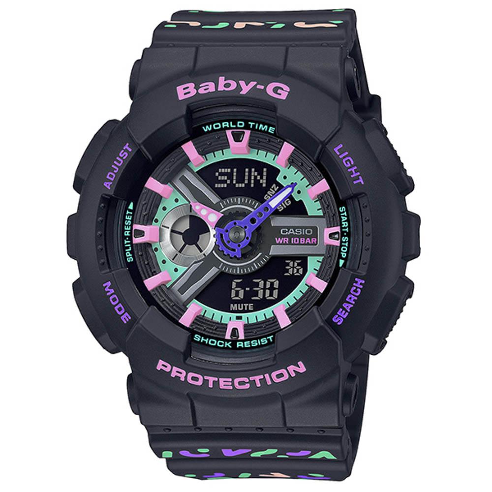 ベイビージー BABY-G 腕時計 Geometric Pattern アナデジLウォッチ BA-110TH-1AJF  ギフトラッピング無料 ラッキーシール対応