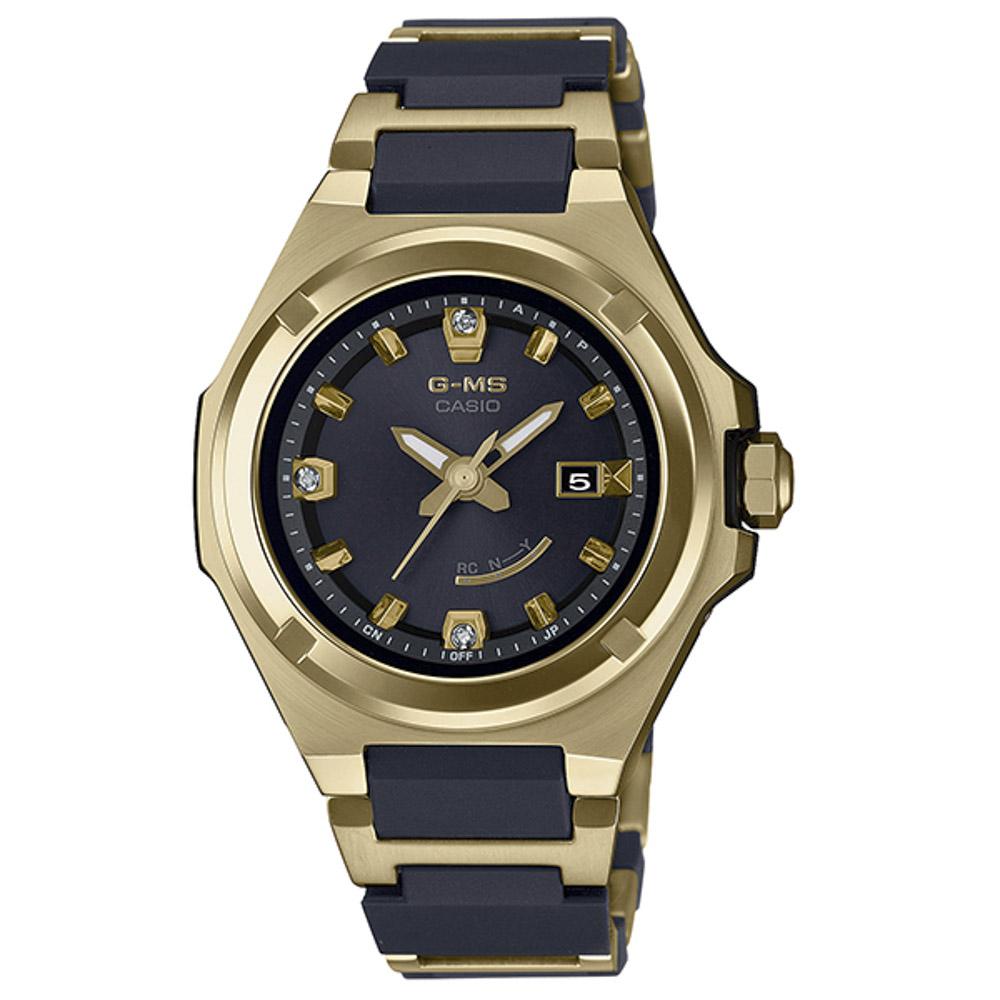 ベイビージー BABY-G 腕時計 BABY-G25周年記念 G-MS 電波ソーラーLウォッチ MSG-W325CGD-1AJR  ギフトラッピング無料 ラッキーシール対応
