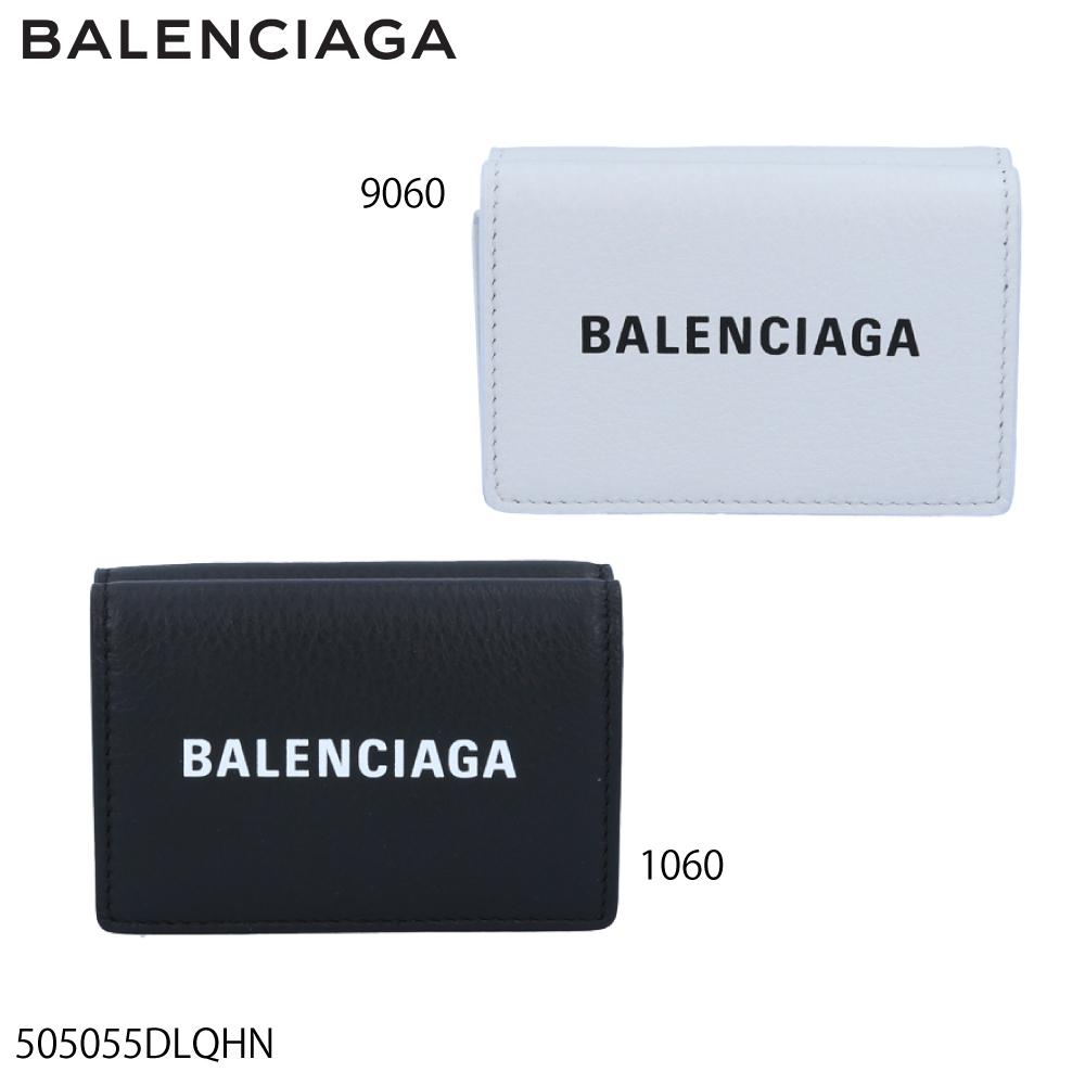 バレンシアガ BALENCIAGA ミニサイフ EVERYDAYロゴ折TINYミニ 505055DLQHN  ギフトラッピング無料 ラッキーシール対応