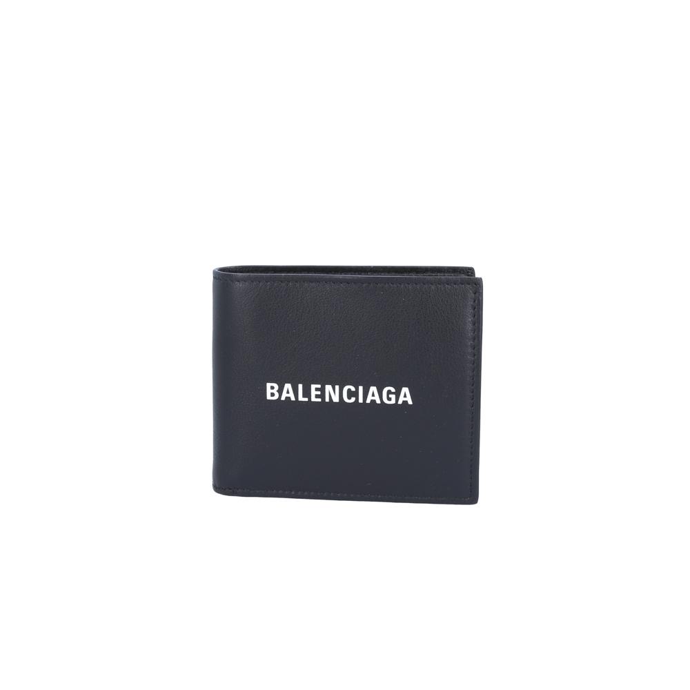 バレンシアガ BALENCIAGA 折財布 EVERYDAYロゴカーフ折小銭付 487435DLQHN  ギフトラッピング無料