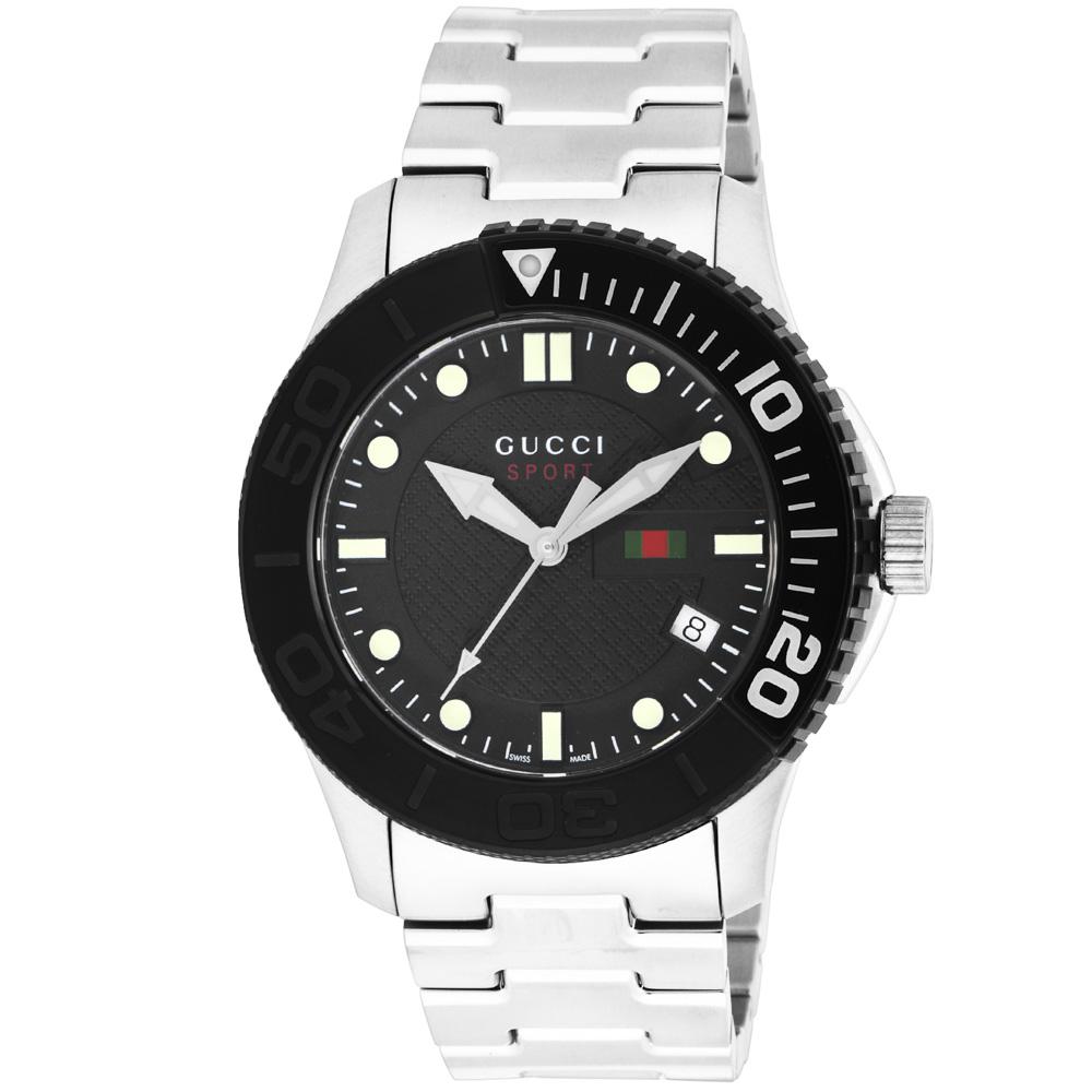 グッチ GUCCI 腕時計 GUC・14S G-TIMELESSステンベルトMウォッチ YA126249  ギフトラッピング無料 ラッキーシール対応