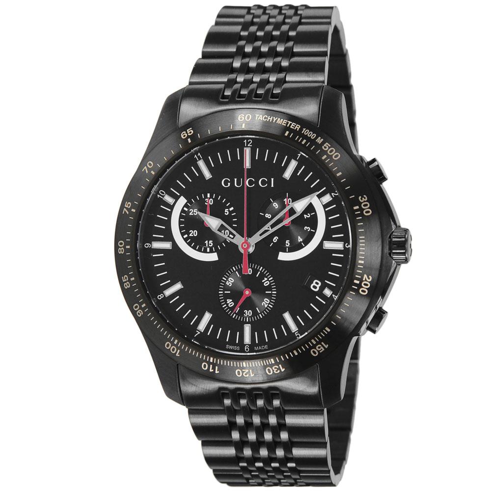 【7月19日-26日限定★エントリーでポイント5倍】グッチ GUCCI 腕時計 GUC・14S G-TIMELESSクロノステンMウォッチ YA126258  ギフトラッピング無料