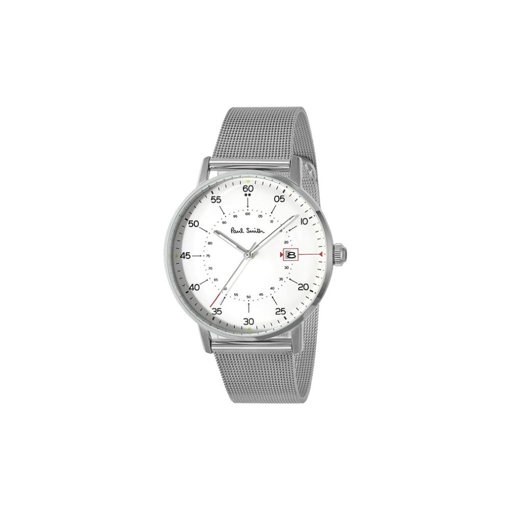 ポールスミス Paul Smith 腕時計 PSM・16A GAUGE 41mmステンメッシュMウォッチ P10075  ギフトラッピング無料 ラッキーシール対応