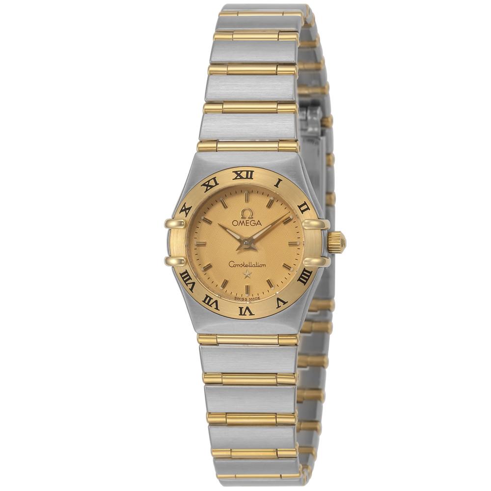 【7月19日-26日限定★エントリーでポイント5倍】オメガ OMEGA 腕時計 コンステレーションミニQZ 126210  ギフトラッピング無料