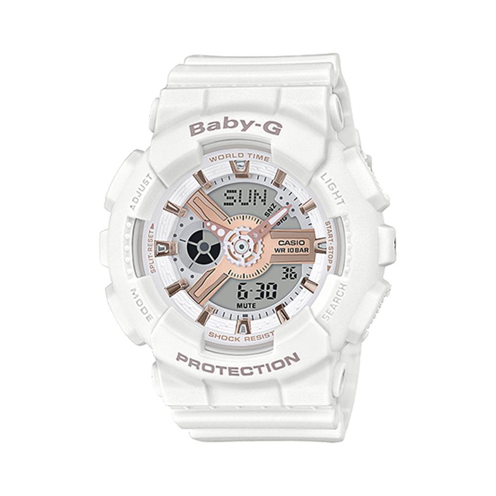 ベイビージー BABY-G 腕時計 BG・18A 110シリーズ アナデジLウォッチ BA-110RG-7AJF  ギフトラッピング無料 ラッキーシール対応