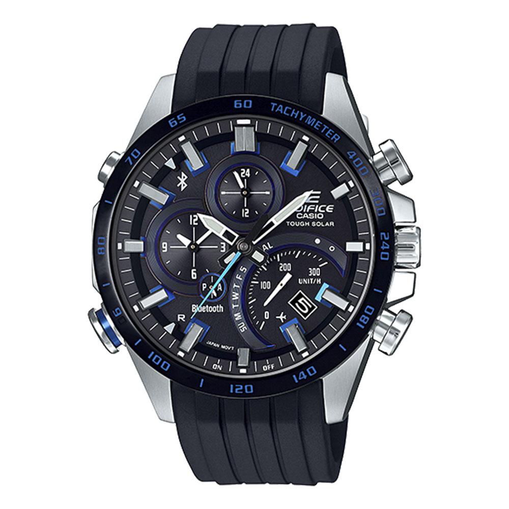 【7月19日-26日限定★エントリーでポイント5倍】エディフィス EDIFICE 腕時計 EF・18A クロノBluetoothソーラーMウォッチ EQB-501XBR-1AJF  ギフトラッピング無料