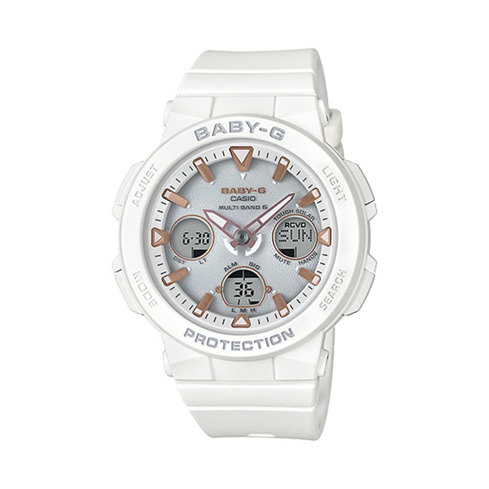 ベイビージー BABY-G 腕時計 BG・18S BEACH TRAVELER 電波ソーラ BGA-2500-7AJF  ギフトラッピング無料 ラッキーシール対応
