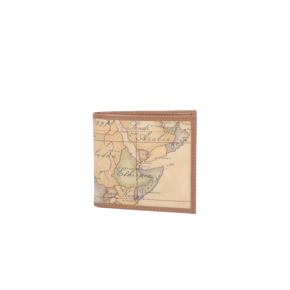 【5月4日-7日★ポイント5倍】プリマクラッセ PRIMA CLASSE PVC地図柄折り財布 W103/6000  ギフトラッピング無料 ラッキーシール対応