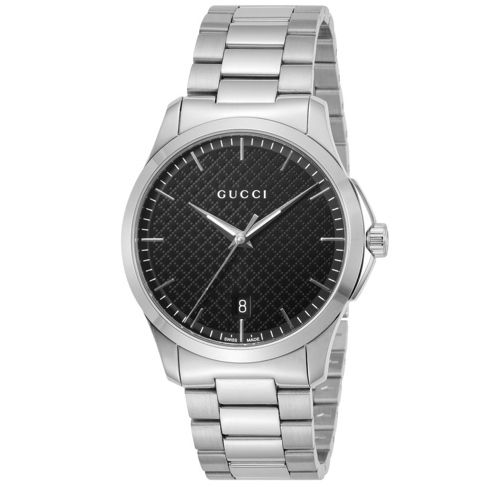 グッチ GUCCI 腕時計 GタイムレスラウンドステンMウォッチ YYA1264051  ギフトラッピング無料 ラッキーシール対応