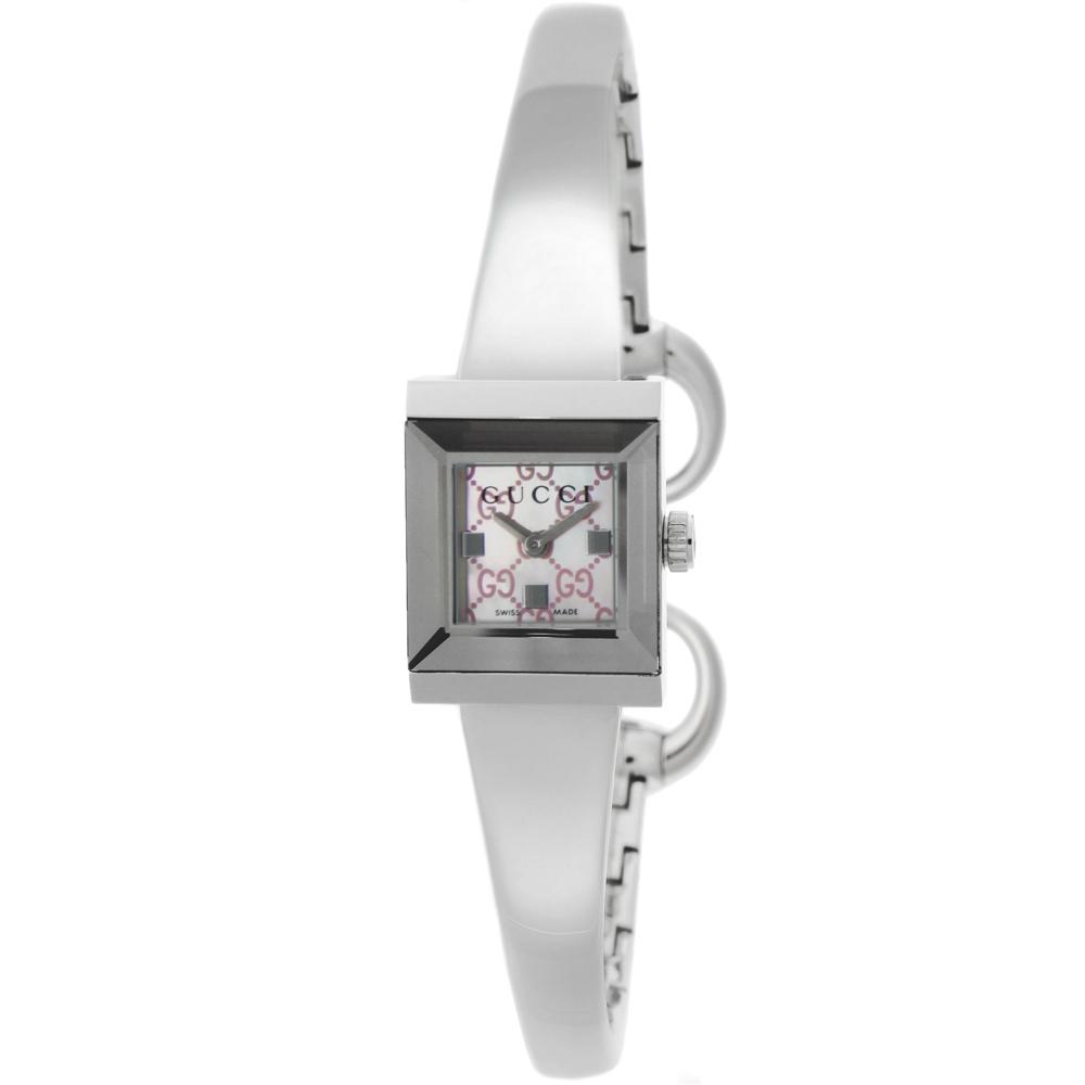 グッチ GUCCI レディース腕時計 Gフレーム YA128516  ギフトラッピング無料 ラッキーシール対応