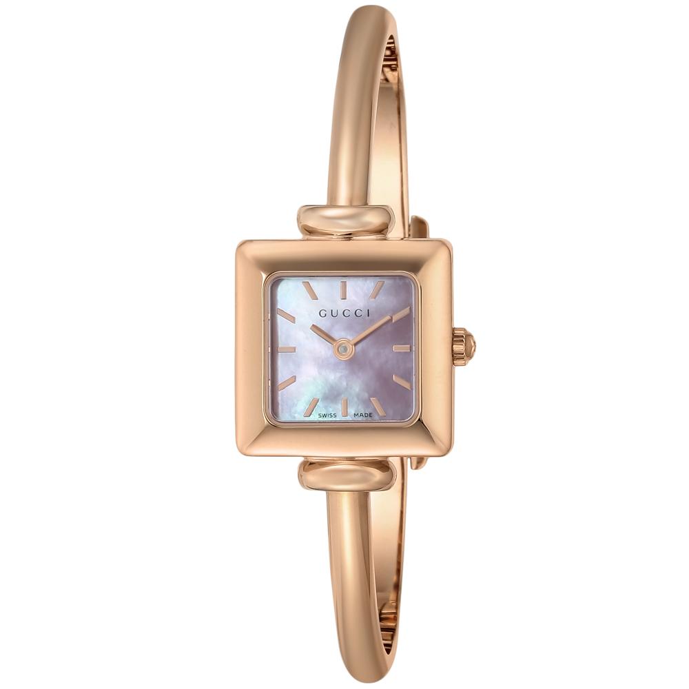 グッチ GUCCI 腕時計 スクエアステンレスベルトLウォッチ YA019521  ギフトラッピング無料 ラッキーシール対応