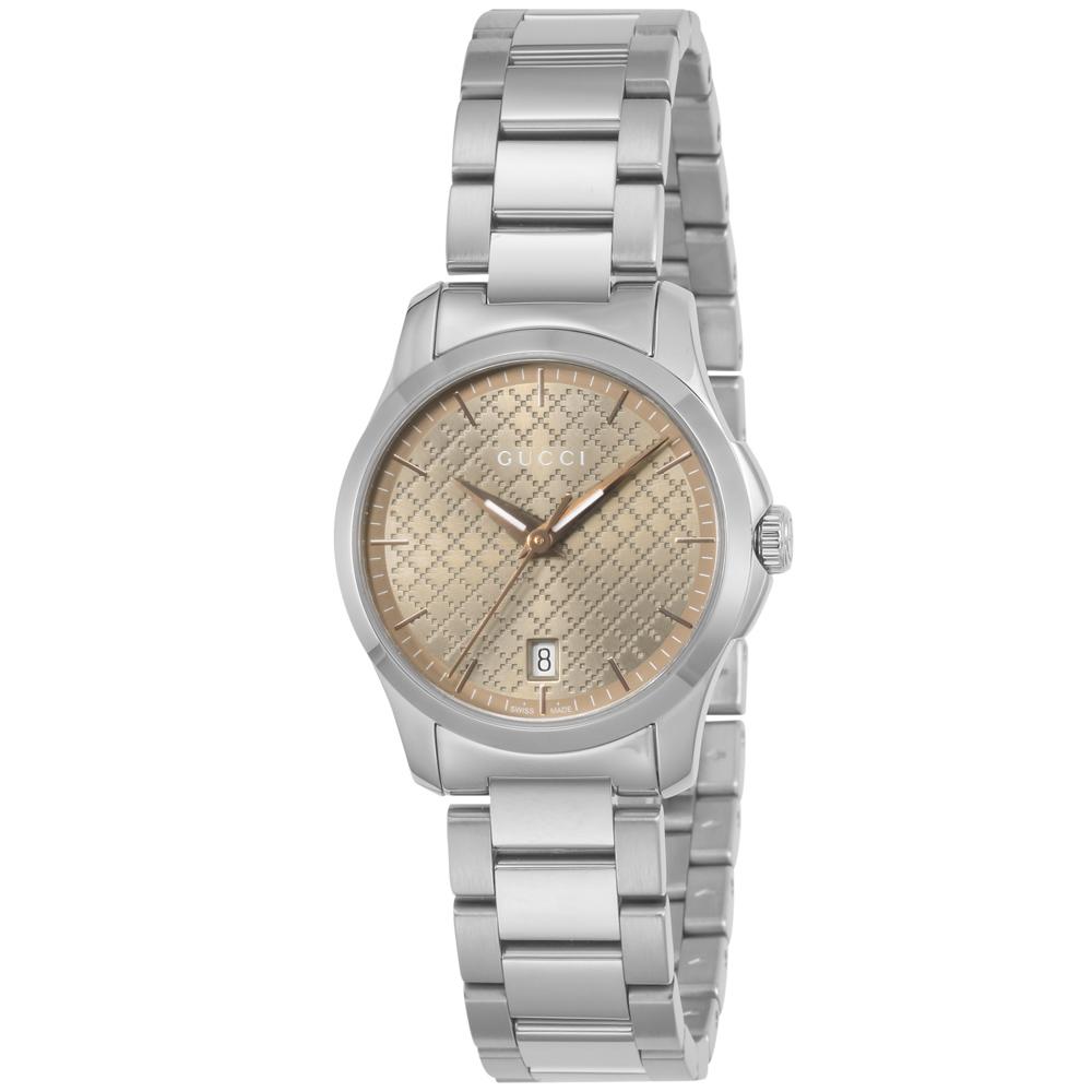 グッチ GUCCI 腕時計 Gタイムレス ラウンドステンLウォッチ YA126594  ギフトラッピング無料 ラッキーシール対応