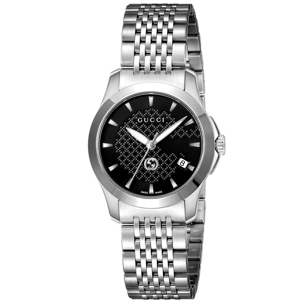 グッチ GUCCI 腕時計 Gタイムレス ステンレスベルトLウォッチ YA1265006  ギフトラッピング無料 ラッキーシール対応