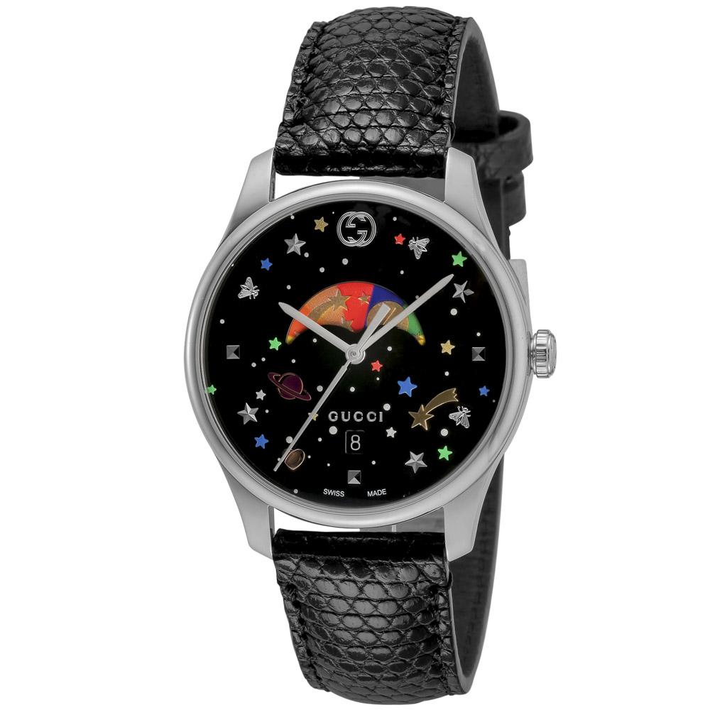 グッチ GUCCI 腕時計 Gタイムレス ムーンフェイズレザーL YA1264045  ギフトラッピング無料 ラッキーシール対応