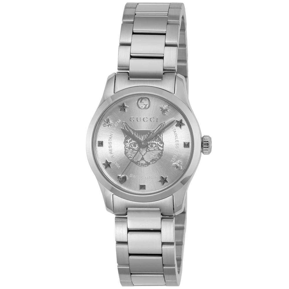 グッチ GUCCI 腕時計 Gタイムレス ラウンドステンLウォッチ YA126595  ギフトラッピング無料 ラッキーシール対応