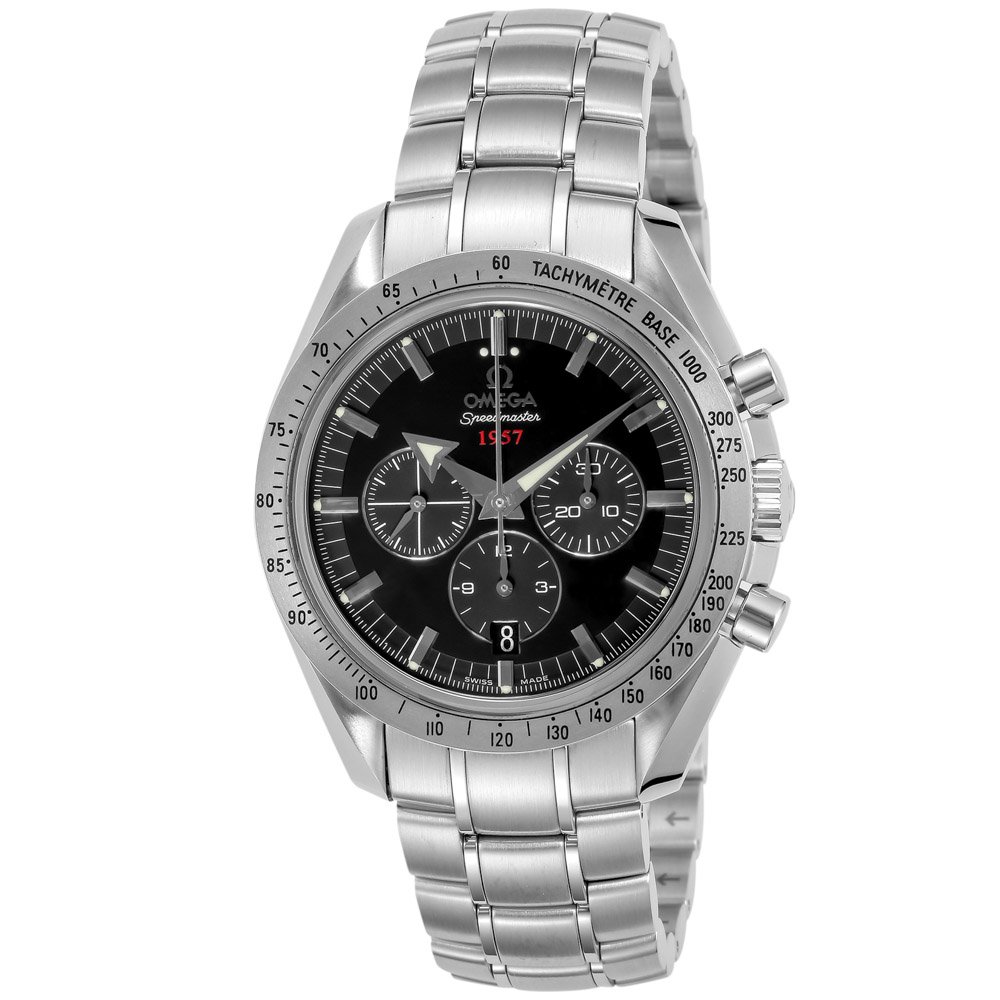 オメガ OMEGA メンズ腕時計 スピードマスターブロードアローAT 32110425001001  ギフトラッピング無料 ラッキーシール対応