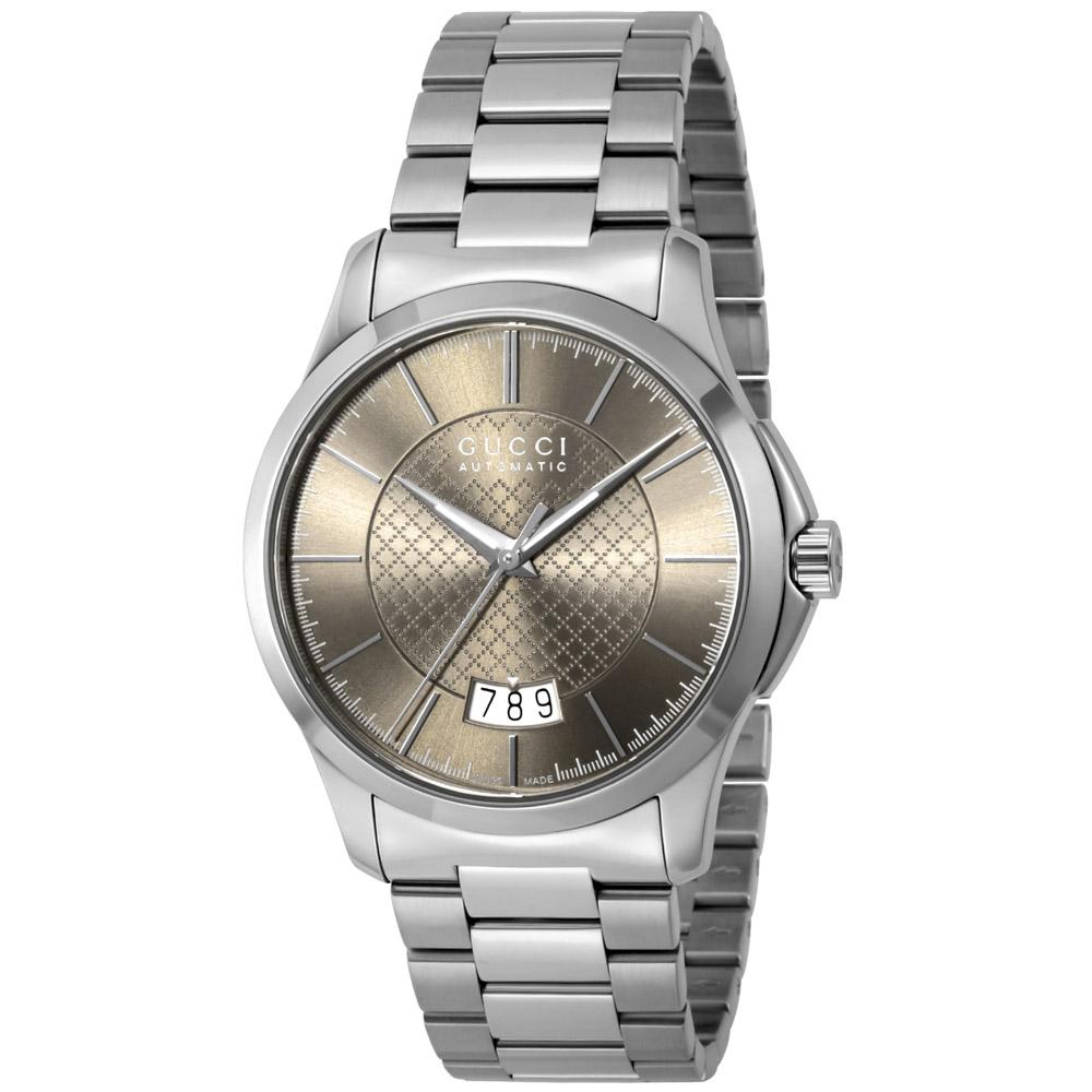 グッチ GUCCI 腕時計 Gタイムレス ステンレスベルトMウォッチ YA126431  ギフトラッピング無料 ラッキーシール対応